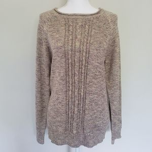 NWT CJBanks Plus Size Chunky Cable Knit Sweater